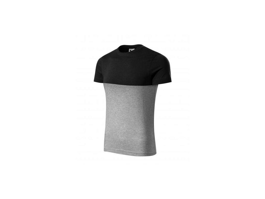 Connection tričko unisex černá