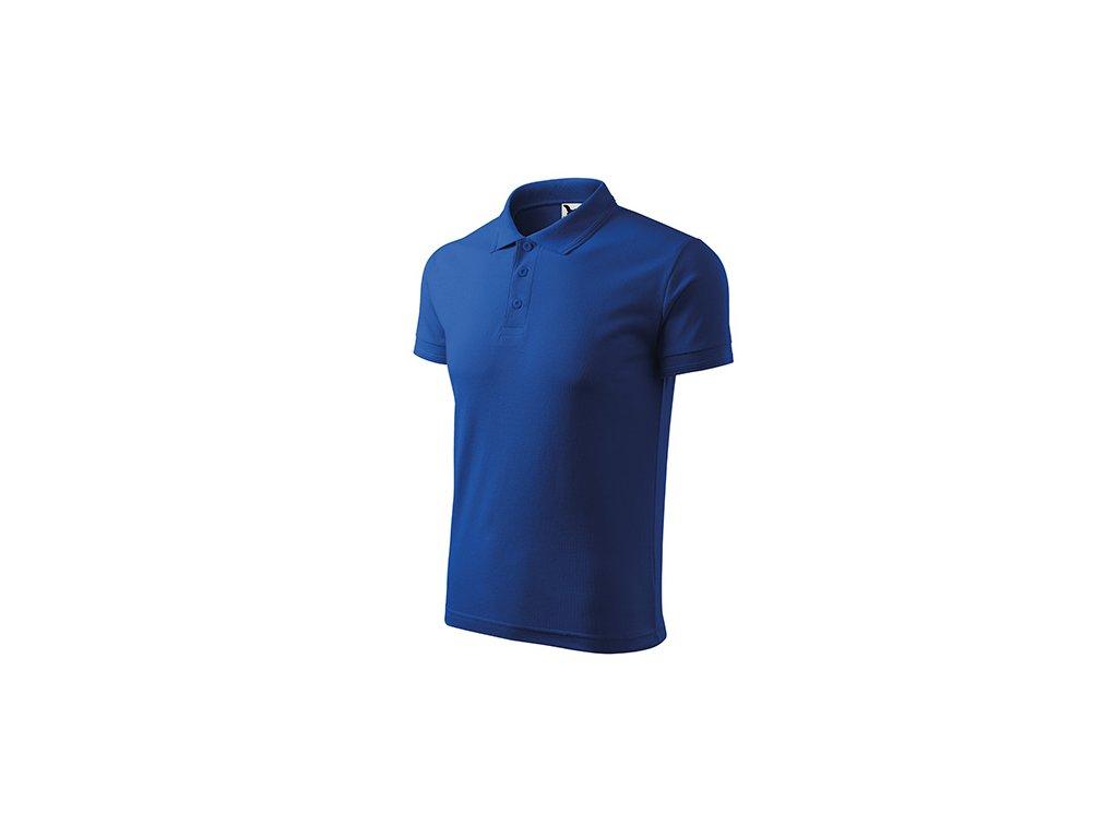 Pique Polo polokošile pánská královská modrá