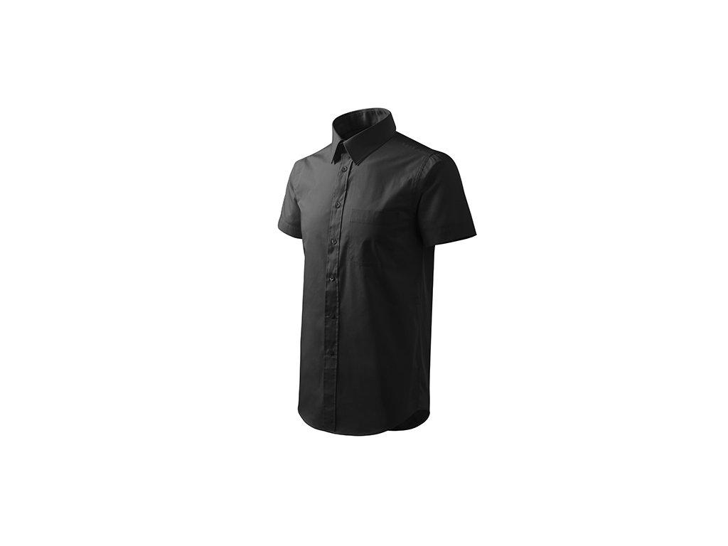 Chic košile pánská černá