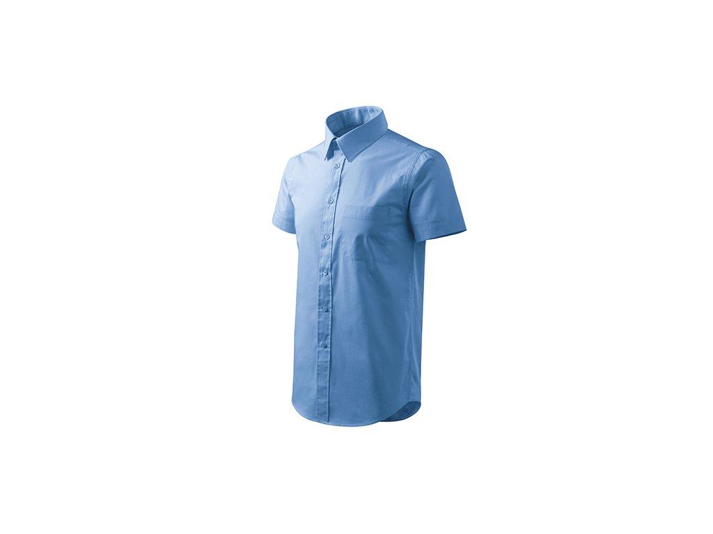 Chic košile pánská nebesky modrá