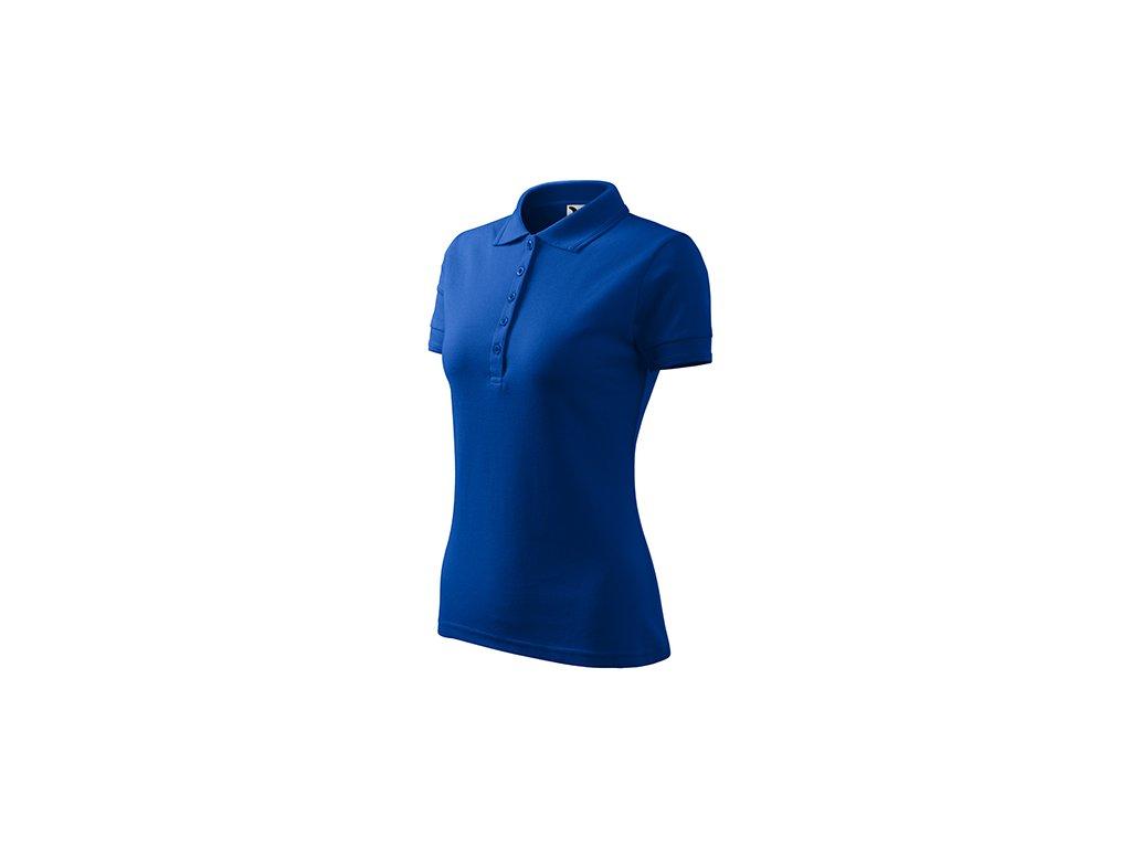 Pique Polo polokošile dámská královská modrá