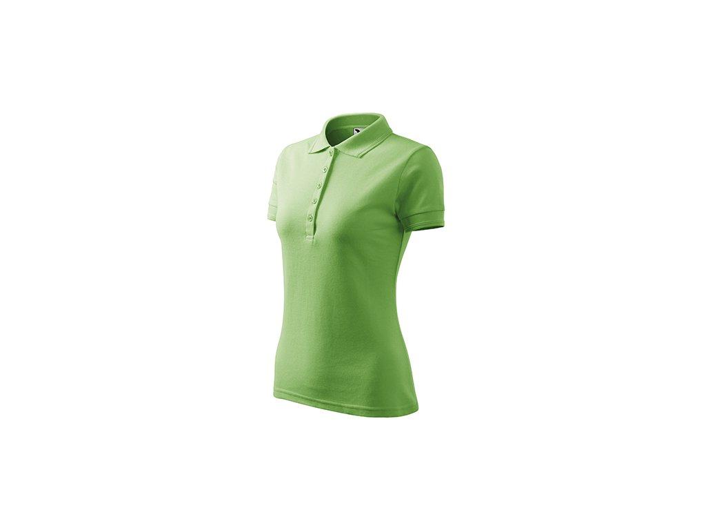 Pique Polo polokošile dámská trávově zelená