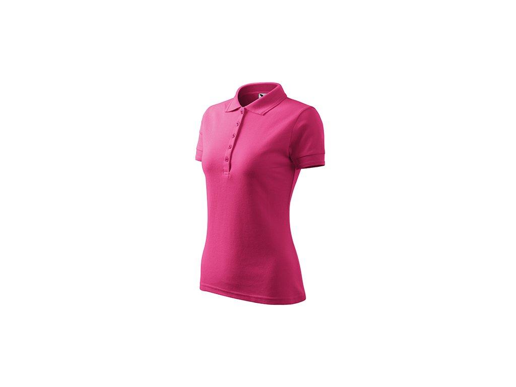 Pique Polo polokošile dámská purpurová