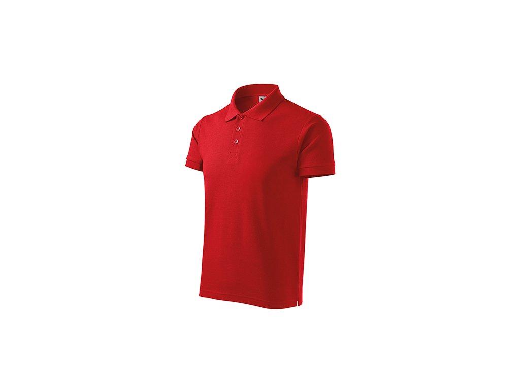 Cotton Heavy polokošile pánská červená