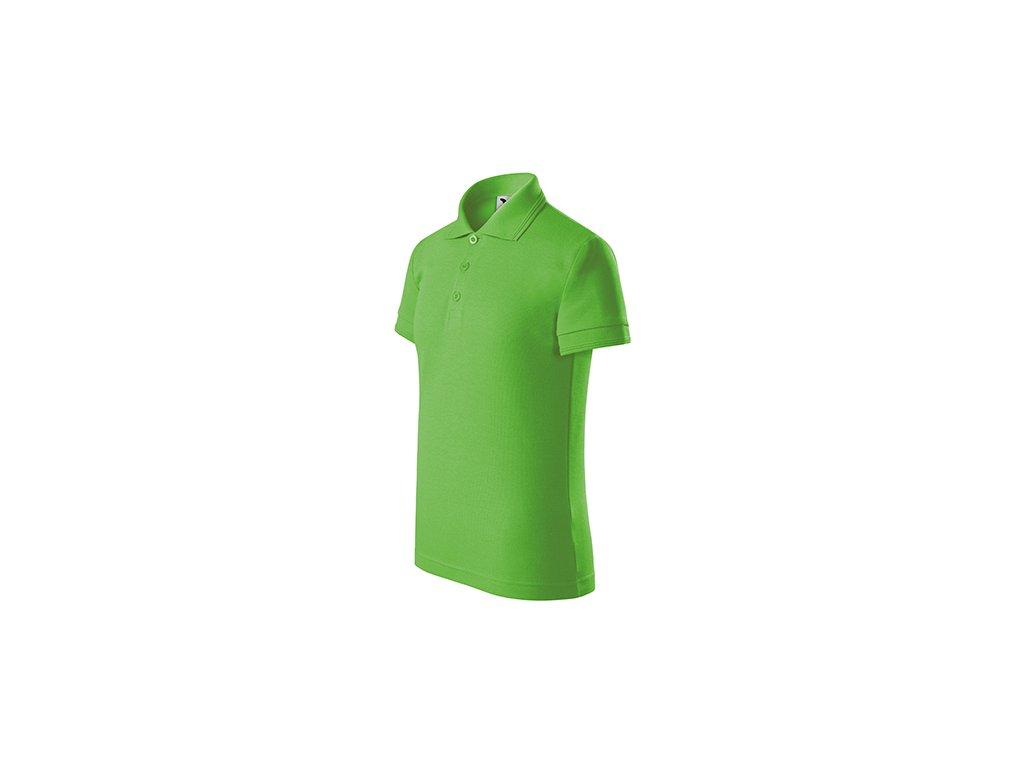 Pique Polo polokošile dětská apple green