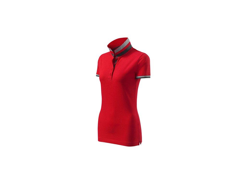Collar Up polokošile dámská formula red