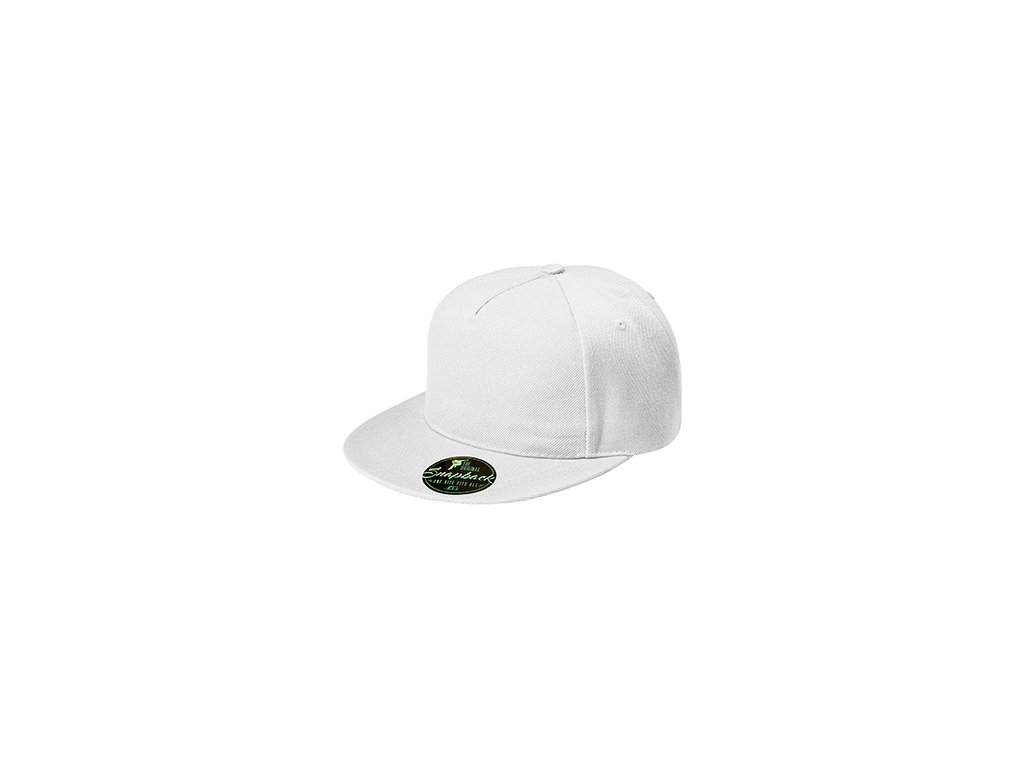 Rap 5P čepice unisex bílá
