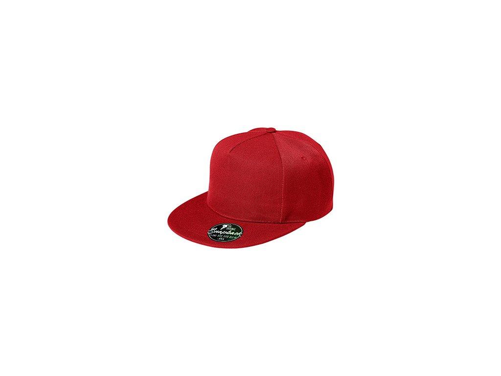 Rap 5P čepice unisex červená