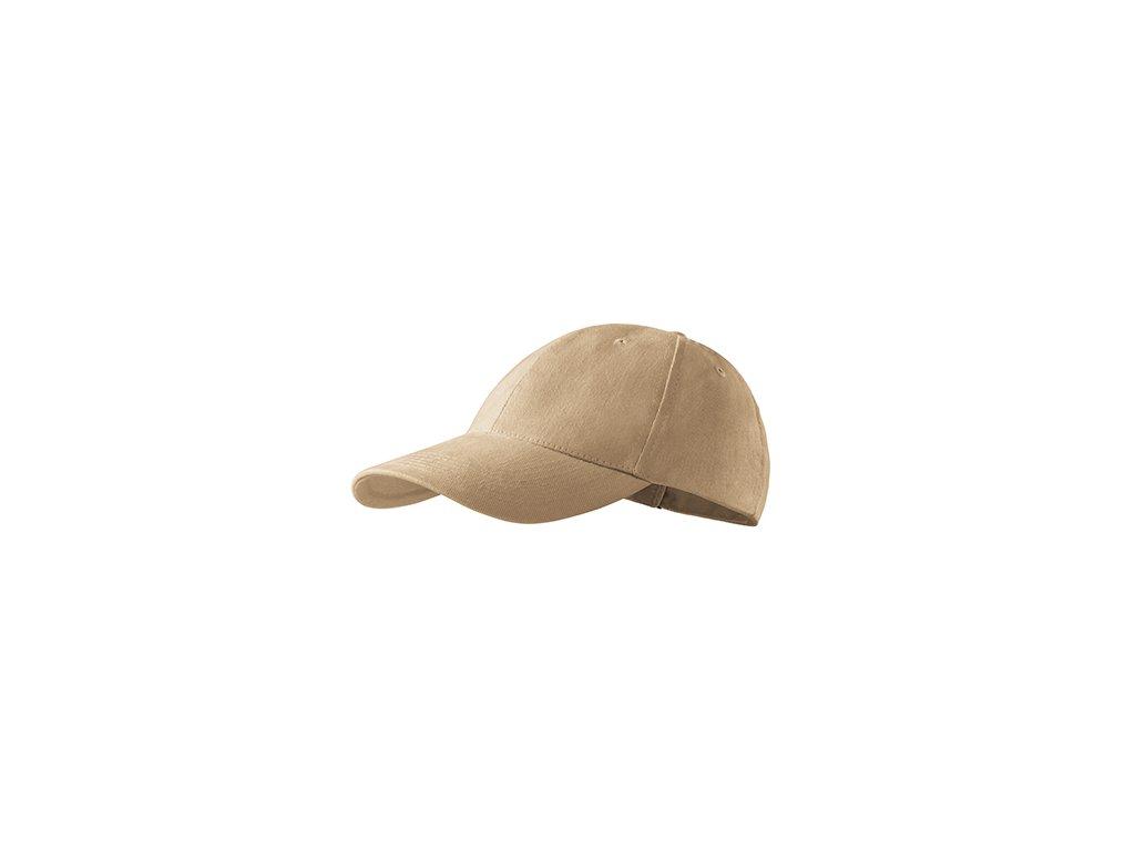 6P čepice unisex písková