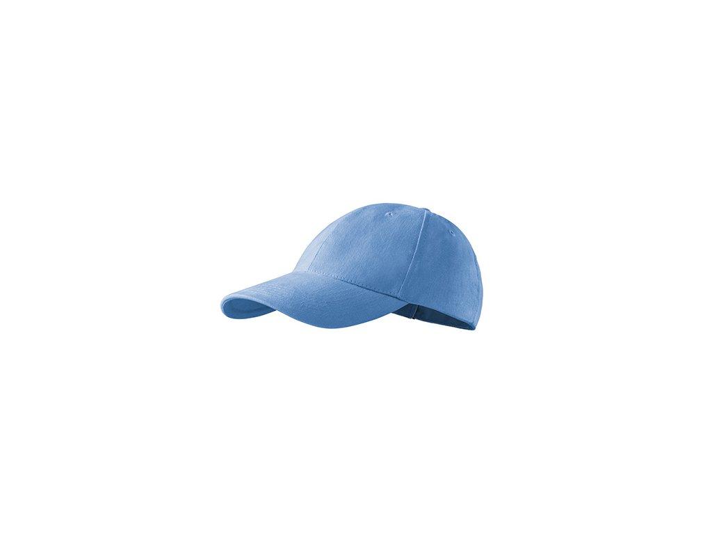 6P čepice unisex nebesky modrá