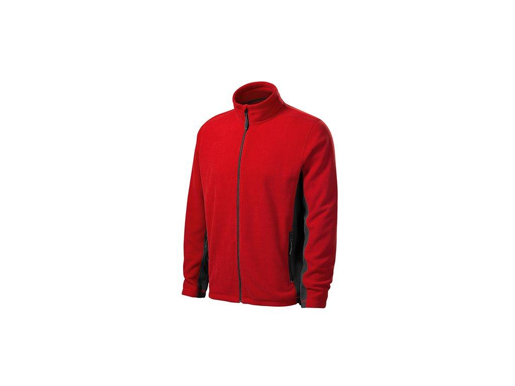 Frosty fleece pánský červená