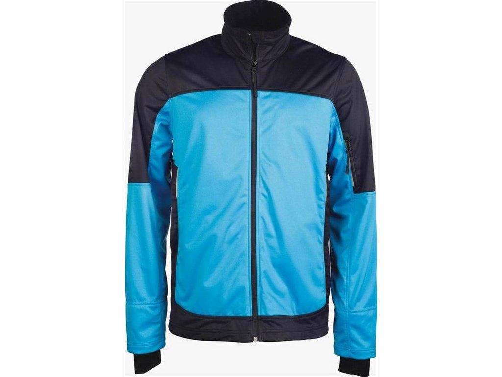 K415 pánská softshellová bunda modrá (Velikost/varianta 4XL)