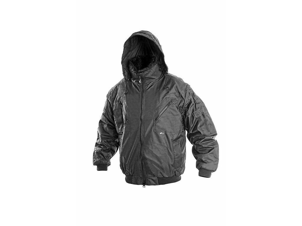PILOT zimní nepromokavá bunda černá (Velikost/varianta 3XL)