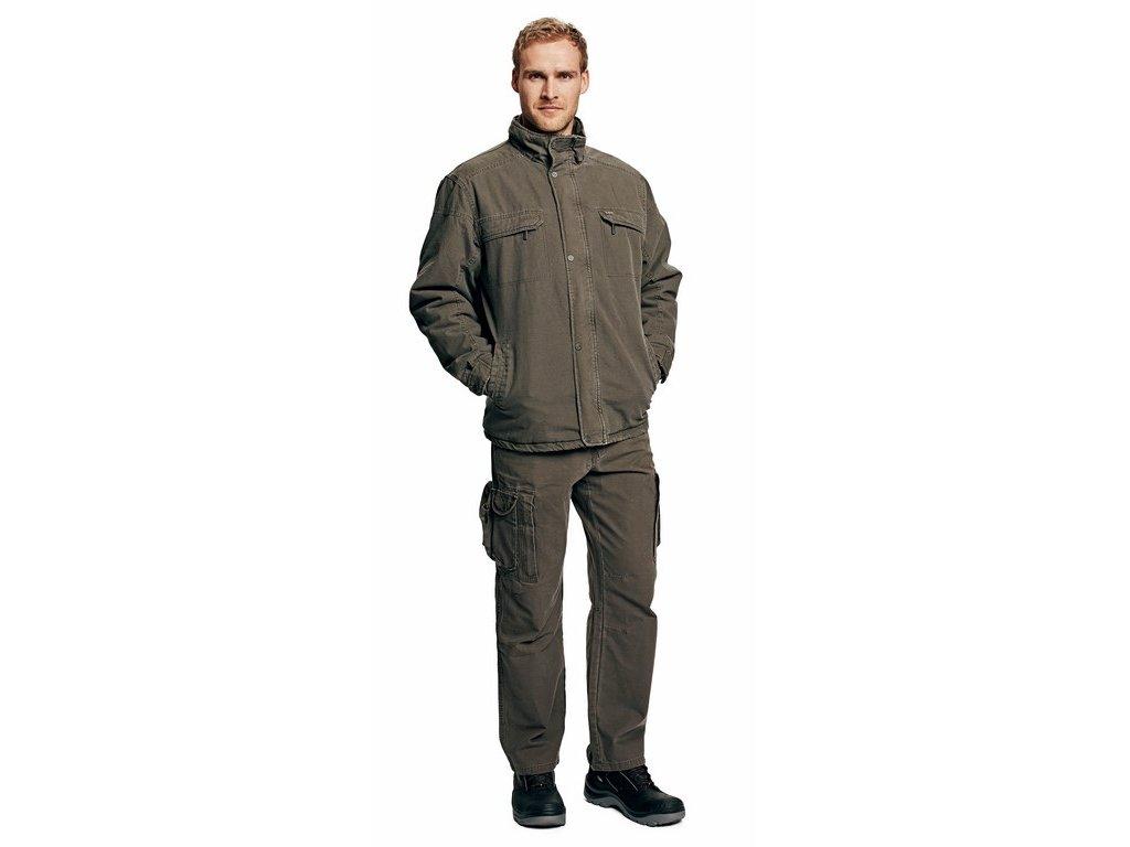 UKARI zimní bunda khaki (Velikost/varianta 3XL)
