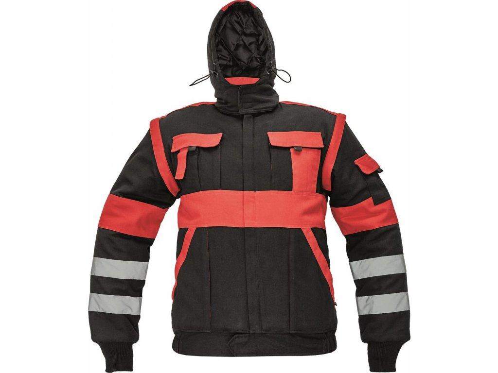 MAX WINTER RFLX zimní montérková bunda černá (Velikost/varianta 64)