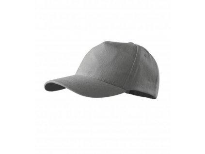 5P čepice unisex starostříbrná