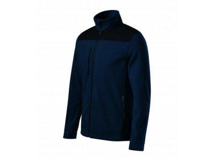 Effect fleece unisex námořní modrá