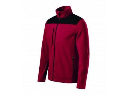 Effect fleece unisex marlboro červená