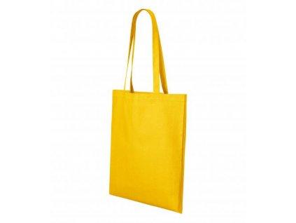 Shopper nákupní taška unisex žlutá