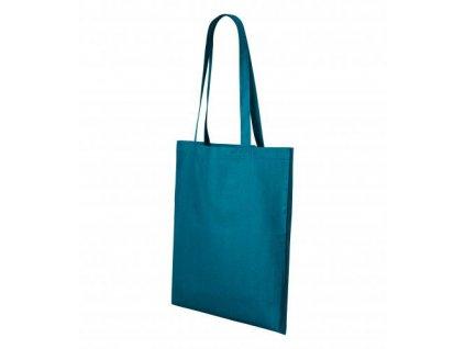 Shopper nákupní taška unisex petrolejová