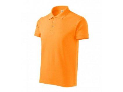 Cotton Heavy polokošile pánská tangerine orange