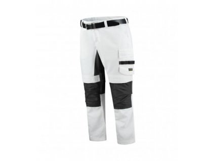 Painter's Pants Twill Cordura Stretch pracovní kalhoty unisex bílá