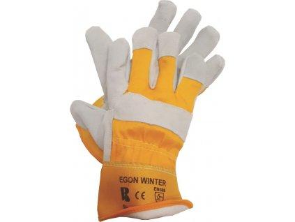 ban egon winter 03102 kozene kombinovane zateplene rukavice