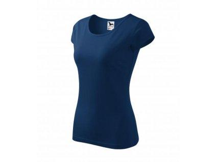 Pure tričko dámské půlnoční modrá