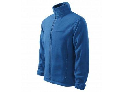 Jacket fleece pánský azurově modrá