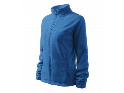 Jacket fleece dámský azurově modrá