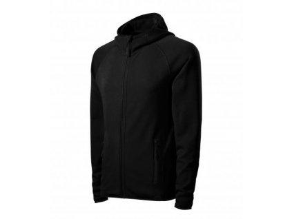 Direct stretch fleece pánský černá