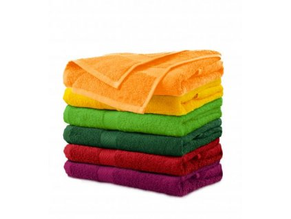 Terry Towel ručník unisex tangerine orange