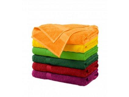 Terry Bath Towel osuška unisex tangerine orange