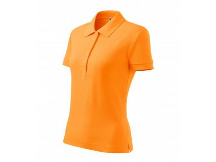 Cotton polokošile dámská tangerine orange
