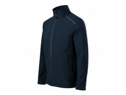 Valley softshellová bunda pánská námořní modrá