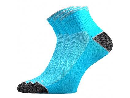 VOXX ponožky Ray neon tyrkys