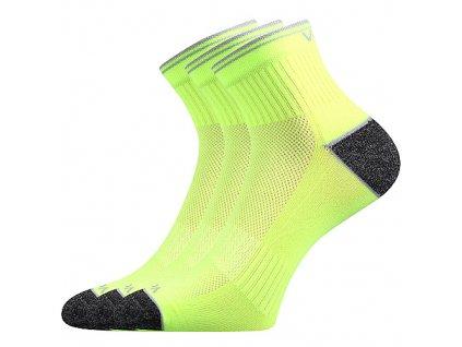 VOXX ponožky Ray neon žlutá