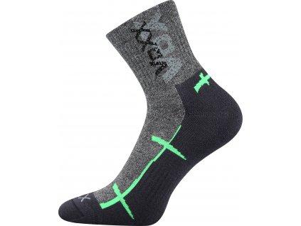 VOXX ponožky Walli tmavě šedá