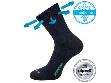 VOXX ponožky Zeus zdrav. tmavě modrá