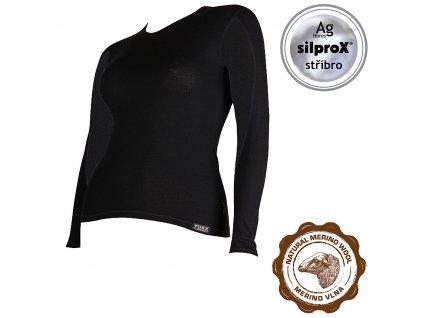 VOXX IN02 dámské funkční tričko černá