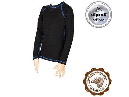 VOXX IN05 dětské funkční tričko modrá