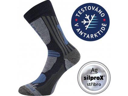 VOXX ponožky Vision dětská tmavě modrá