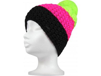 VOXX čepice Avalanche neon zelená