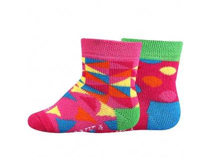 VOXX ponožky Woodinek mix b - holka