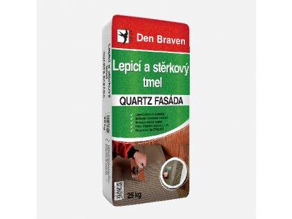 Den Braven - Lepicí a stěrkový tmel QUARTZ FASÁDA, pytel 25 kg