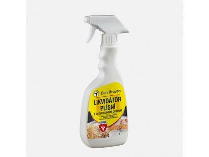 Den Braven - Likvidátor plísní s dlouhodobým účinkem, láhev s rozprašovačem 500 ml