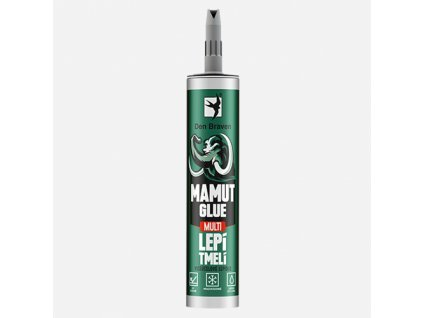 Den Braven - MAMUT GLUE Multi, kartuše 290 ml, šedá