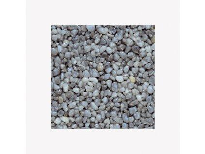 Den Braven - Mramorové kamínky 3 - 6 mm, pytel 25 kg, šedé světlé