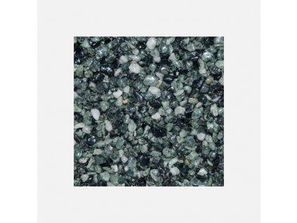 Den Braven - Mramorové kamínky 3 - 6 mm, pytel 25 kg, zelené