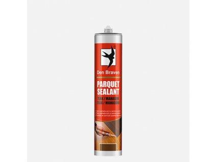 Den Braven - Parketový tmel / Parquet sealant, kartuše 280 ml, teak/mahagon
